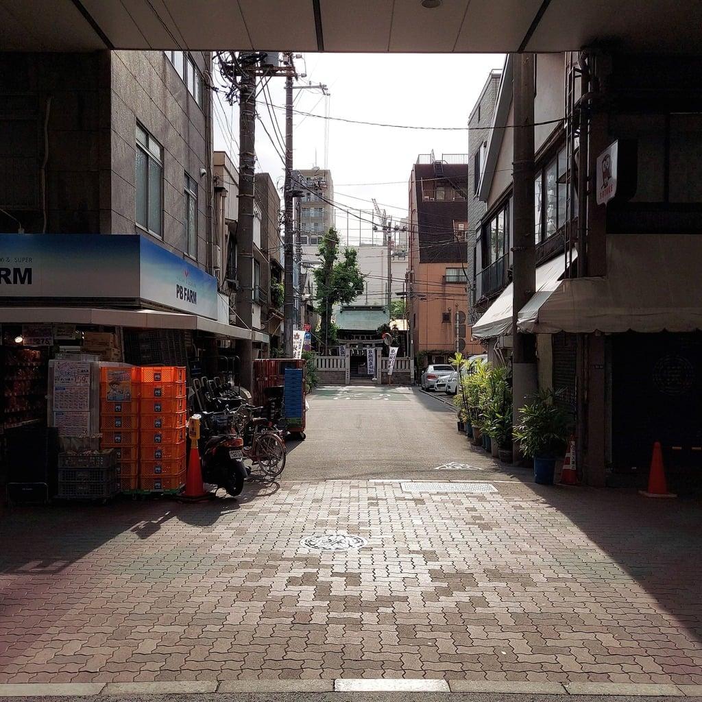 秋葉神社の周辺