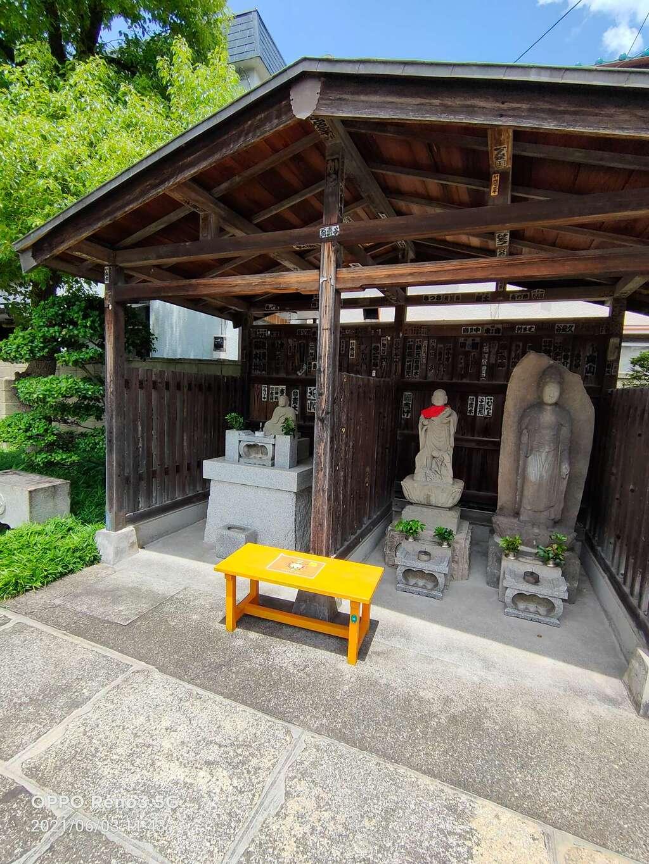 多聞寺の地蔵