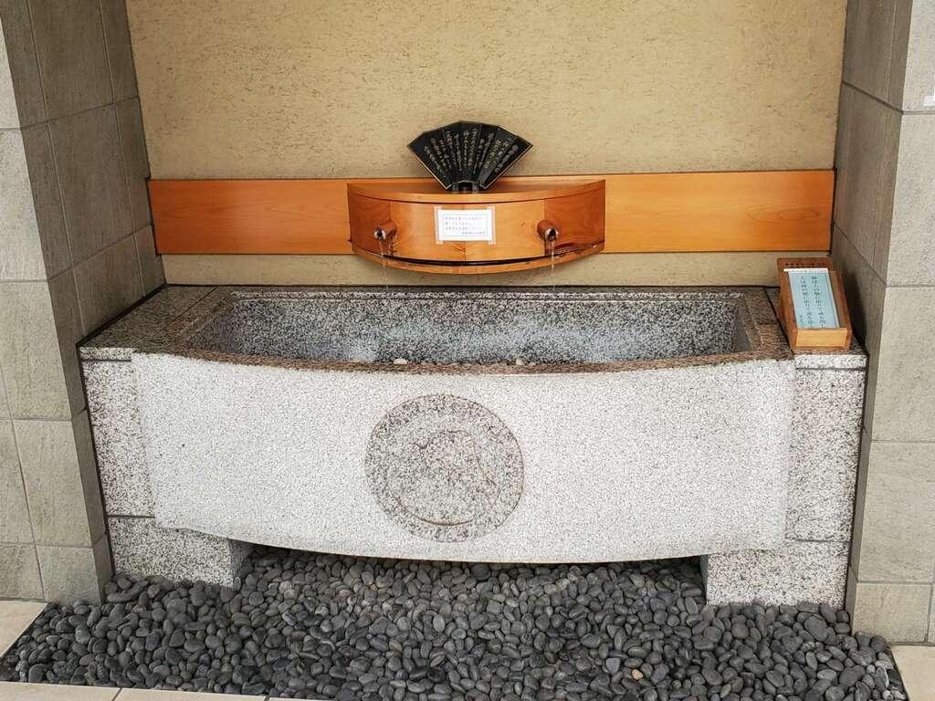 飯倉熊野神社の手水