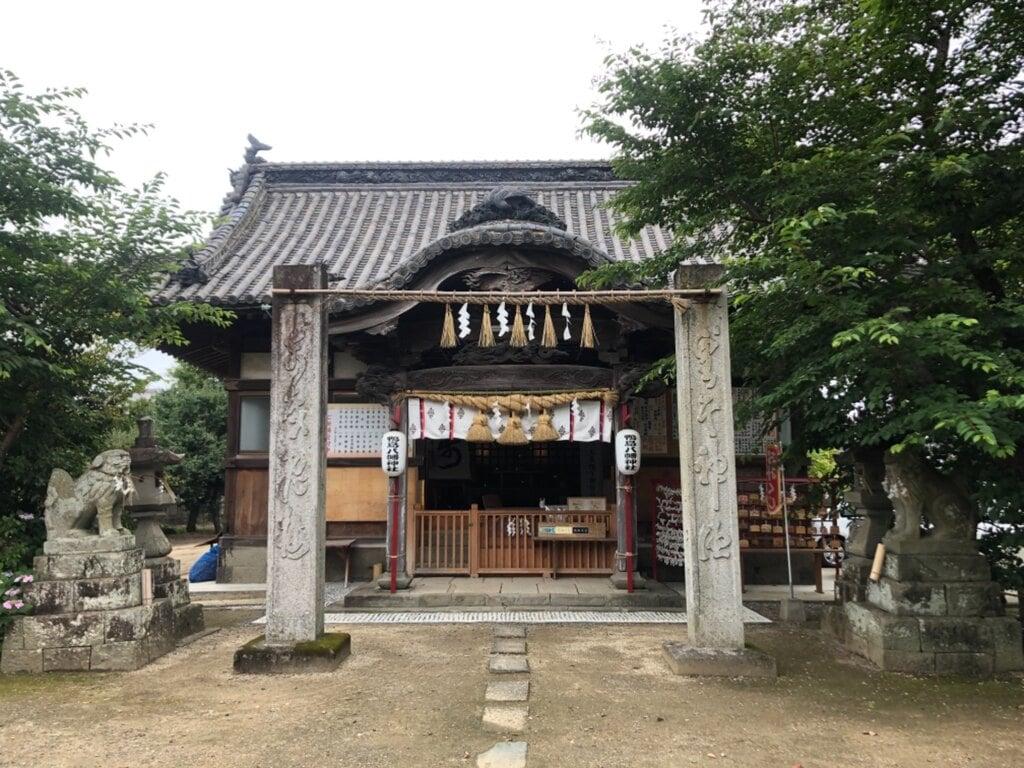 鴨島八幡神社の本殿