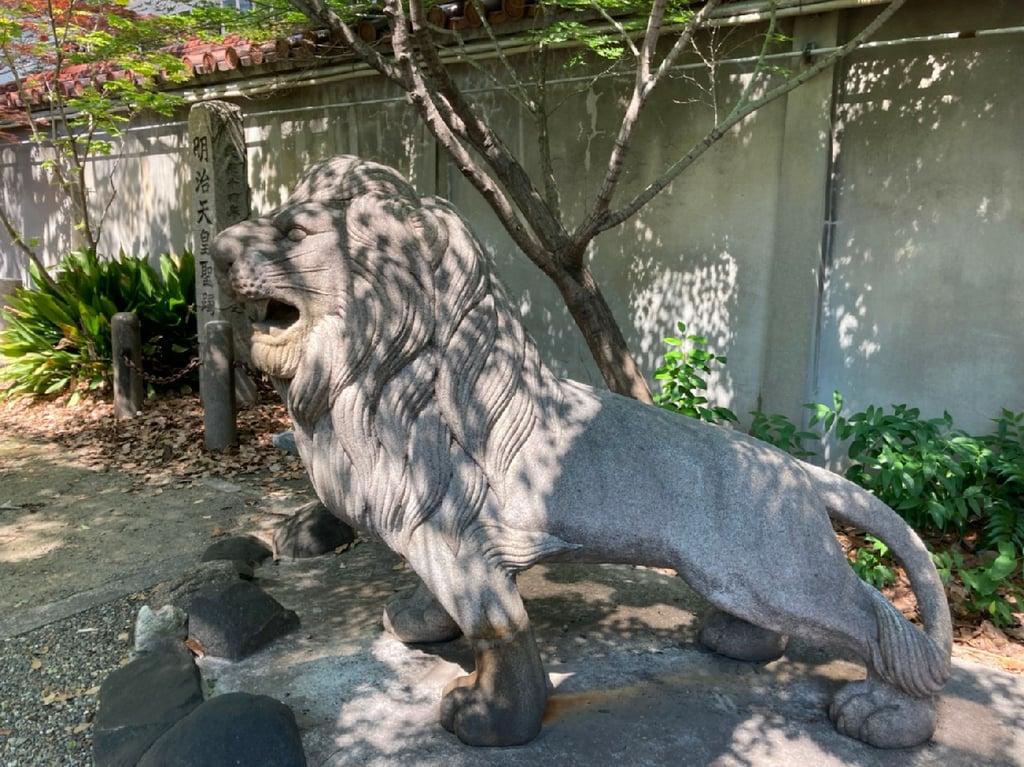 坐摩神社の狛犬