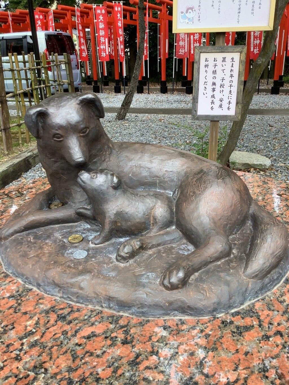 大垣八幡神社の狛犬