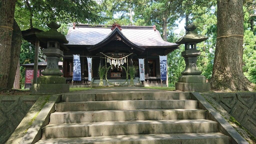 伊豆山神社 里宮(秋田県)