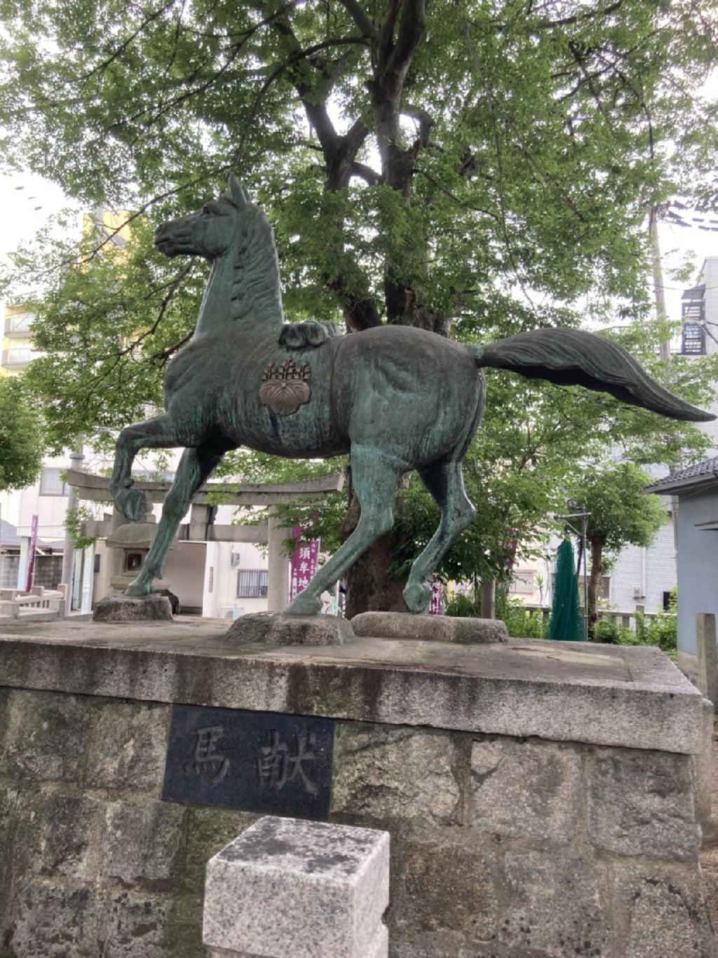 神須牟地神社の狛犬