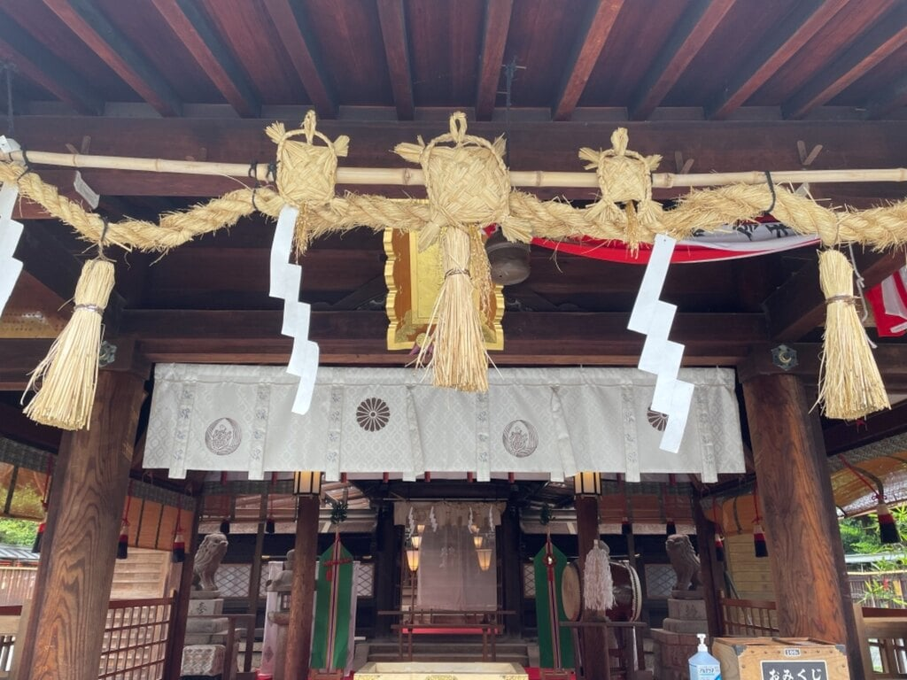 萱野神社の本殿