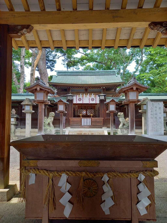 櫻井神社の本殿
