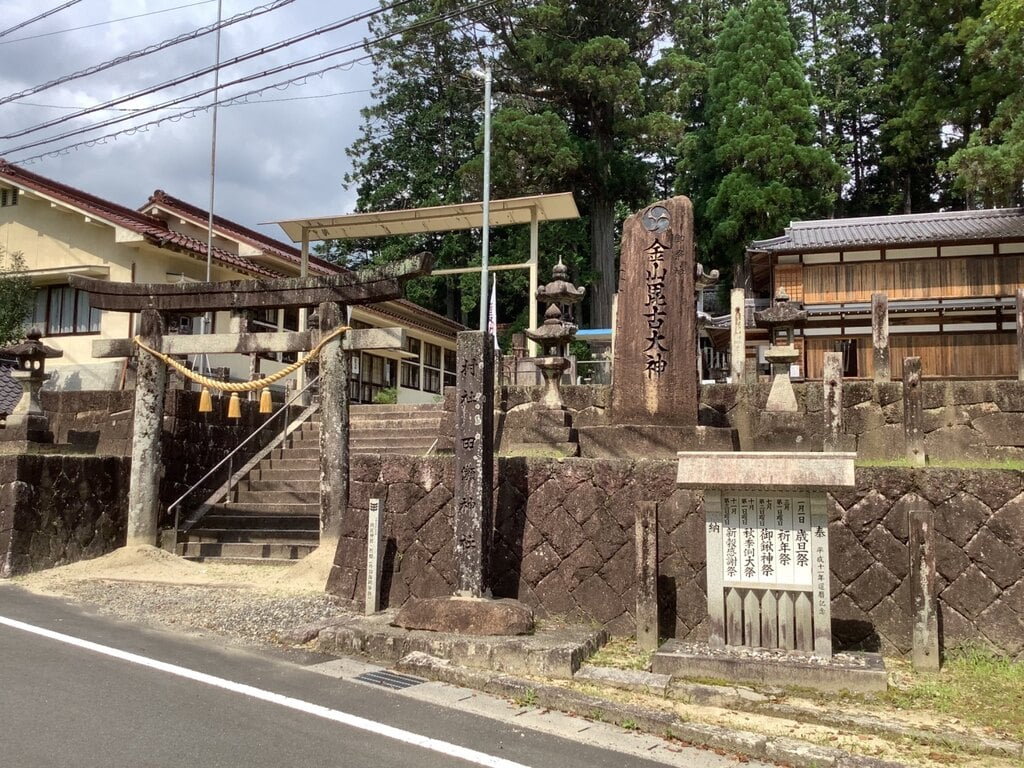 田瀬神社の鳥居