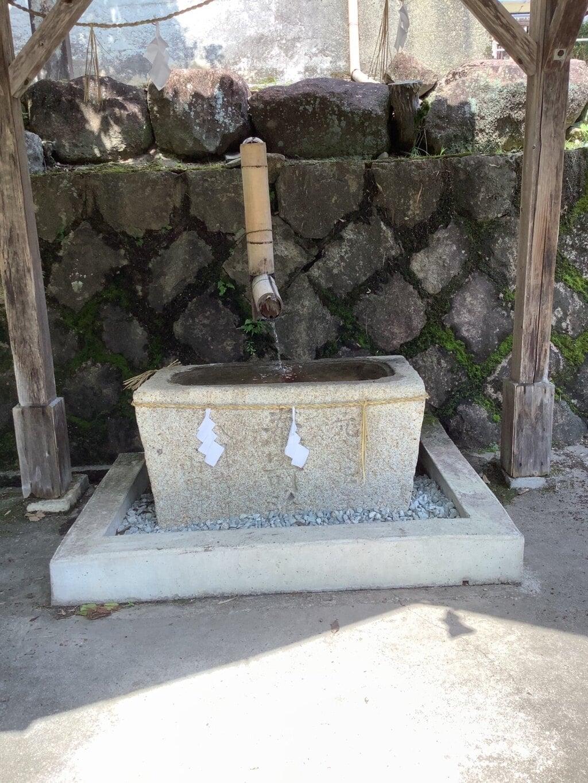 田瀬神社の手水