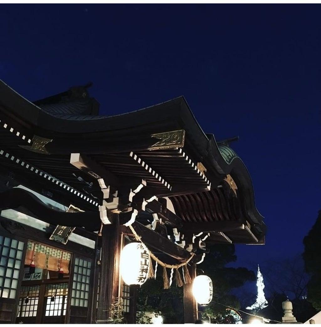 落合白山神社(東京都)