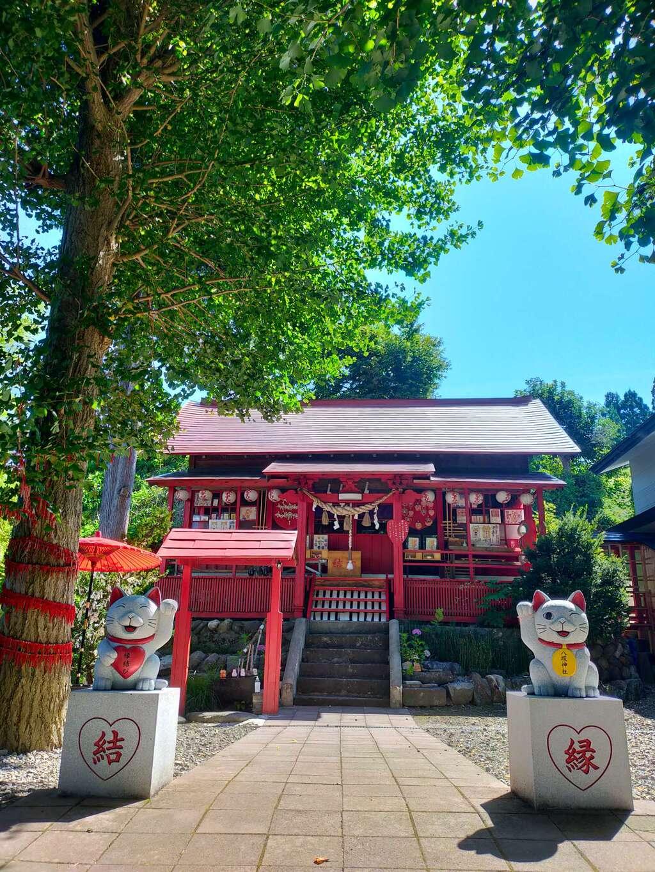 鹿角八坂神社の本殿