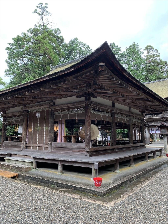 御上神社の神楽