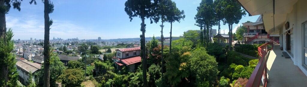 御嶽三吉神社の景色