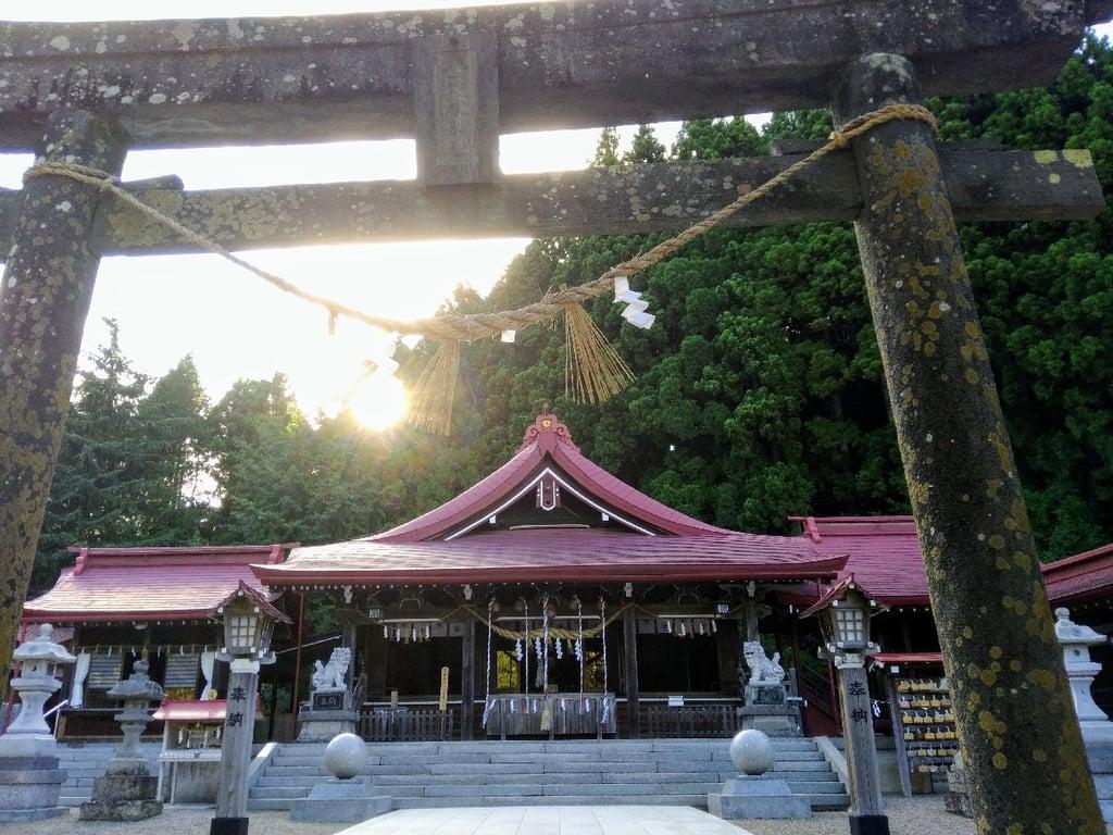 金蛇水神社(宮城県)