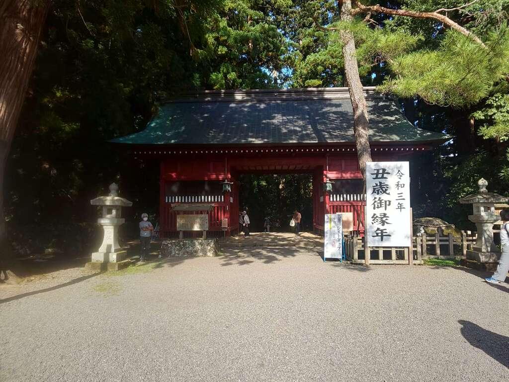 出羽神社(出羽三山神社)~三神合祭殿~(山形県)